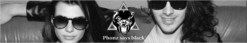 Phonz Says Black